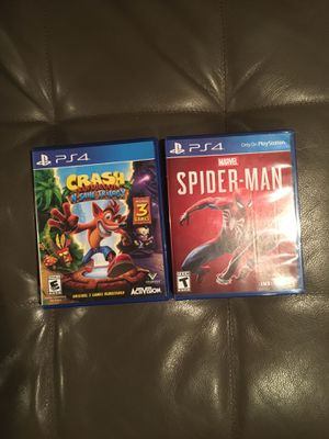 PS4 games for Sale in Hyattsville, MD
