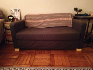 Couch with pull out futon for Sale in Arlington, VA