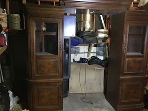 Solid wood entertainment center for Sale in St. Louis, MO