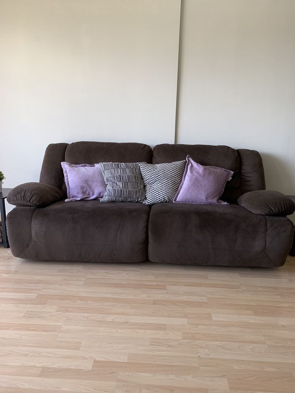 Ashley Furniture Power Brown Sofa For Sale In Honolulu Hi Offerup