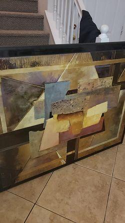 "XL wall painting 42"" x 55"" Thumbnail"