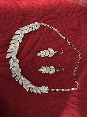 Necklace earrings and bracelets for Sale in Burke, VA