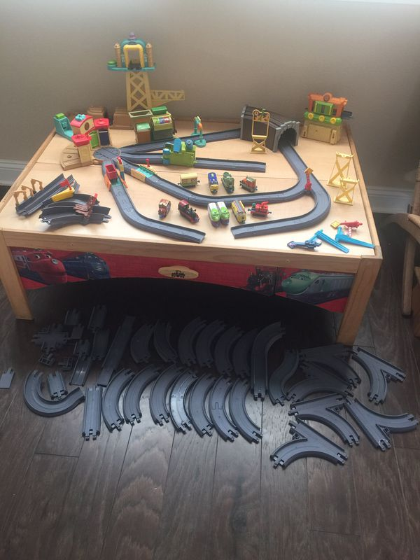 Chuggington train set and table (Games & Toys) in Jacksonville, FL ...