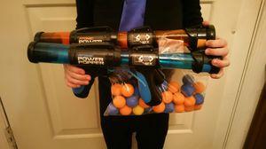 Atomic Power Popper Guns w/ Balls for Sale in Gaithersburg, MD
