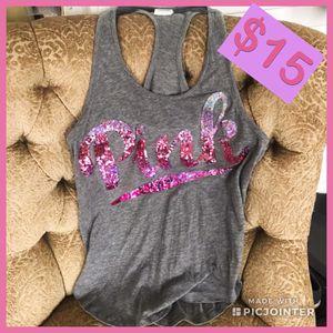 Victoria's Secret PINK Sequin Tank Top for Sale in Oakdale, CA