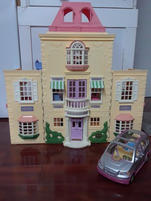 Photo Vintage Fisher-Price Little People dollhouse