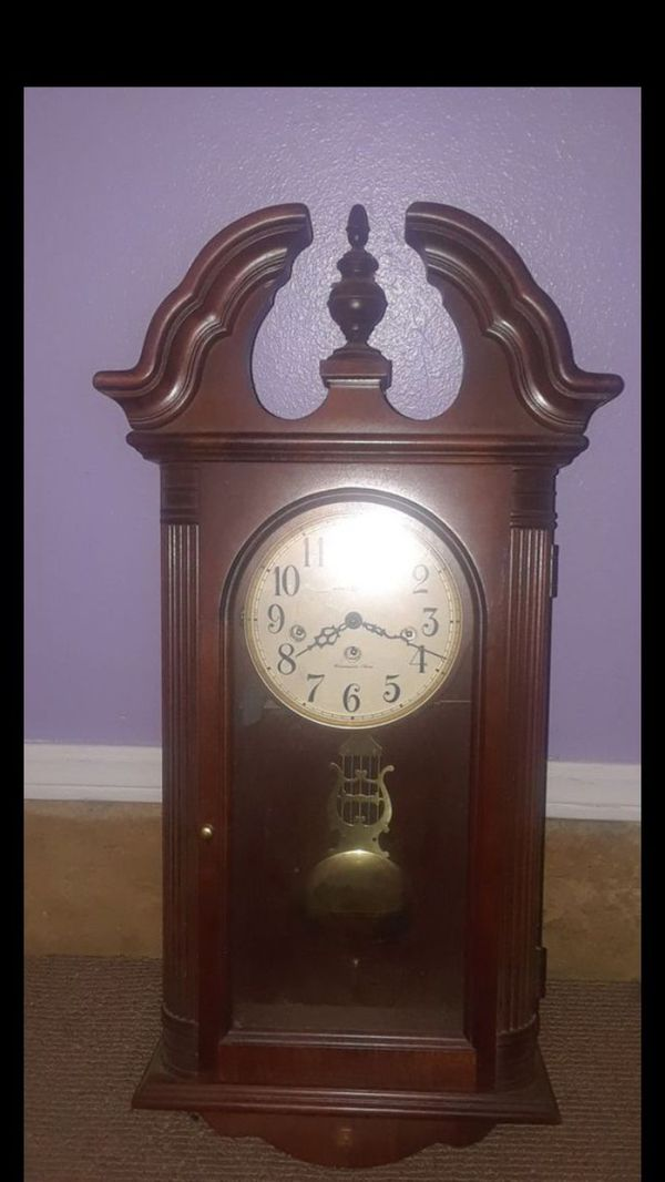 Howard Miller Malia Chiming Wall Clock Antiques In Yukon Ok Offerup