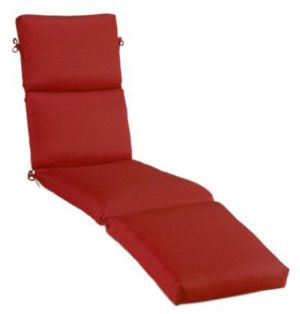Sunbrella Chaise Lounge Cushion Red NEW 80 X 25.5 In for Sale in Miami, FL