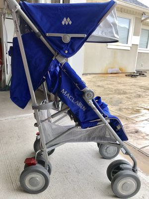 Maclaren techno xt umbrella stroller 2016 - only one baby lightly used for Sale in Houston, TX