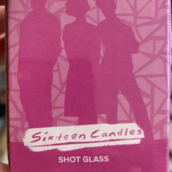 Sixteen Candles Shot Glass  Thumbnail