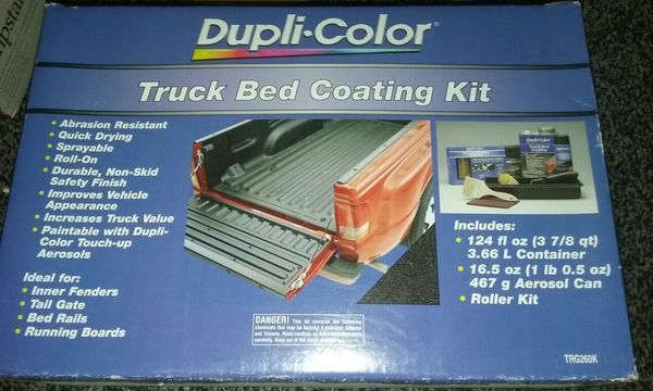 Trg260k Truck Bed Coating Kit New By Dupli Color 124oz Can For Sale