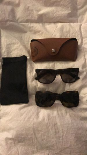 Ray Ban and Chanel sunglasses for sale! for Sale in Westlake, MD