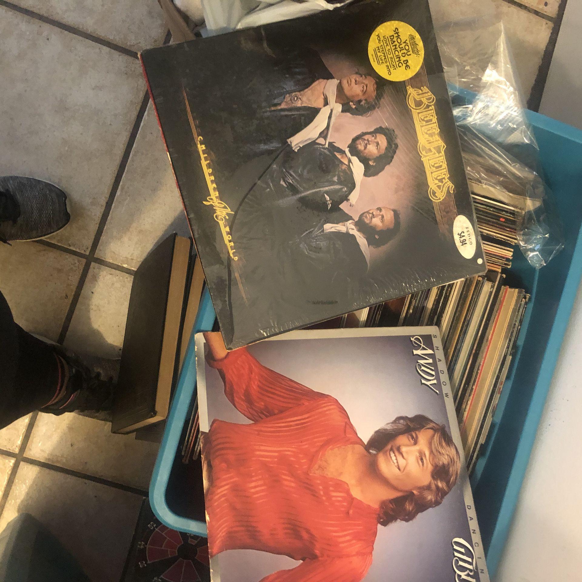 Albums box full