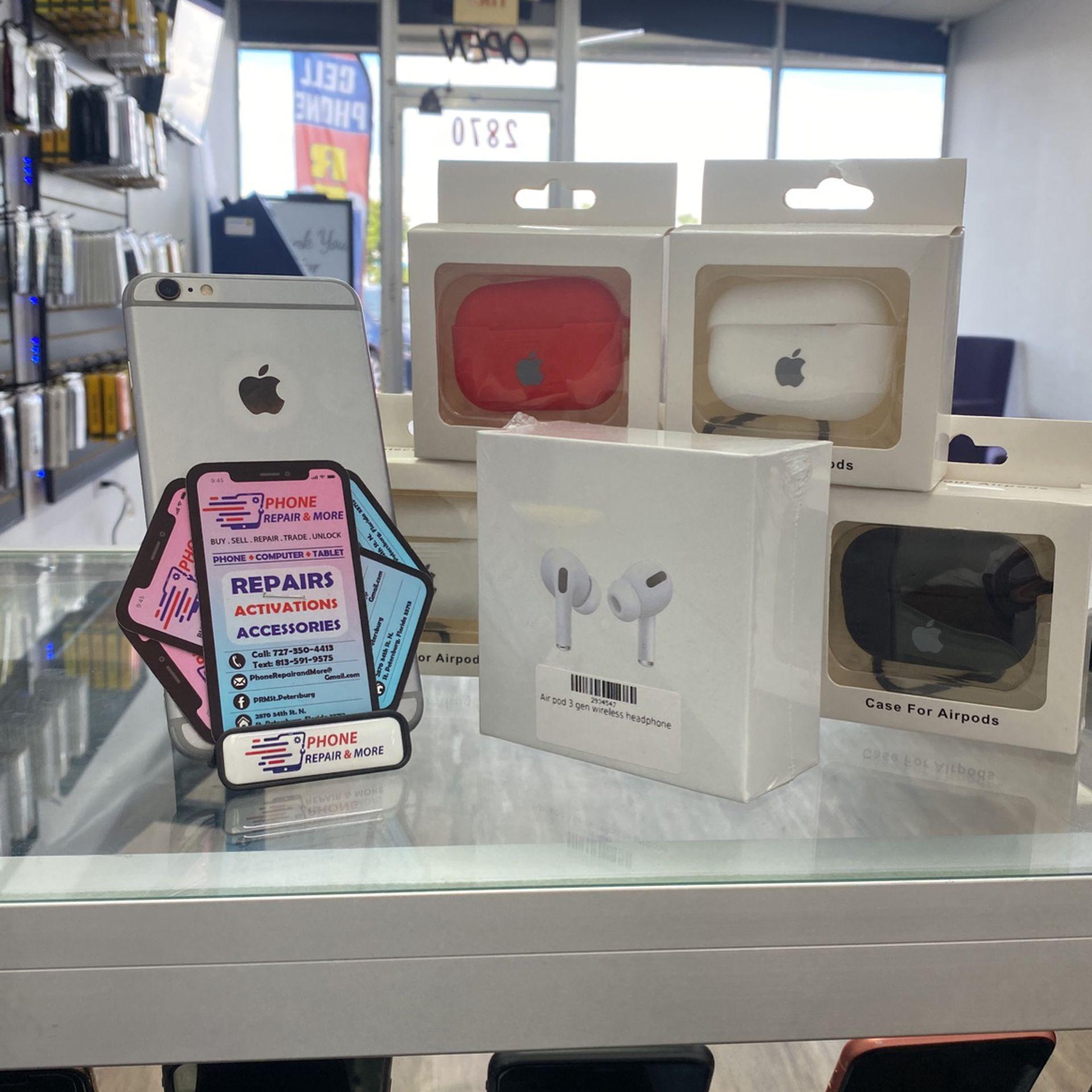 IpHone 6s Plus(16GB, 32 GB ,64GB ,128GB) factory unlocked 30Days warranty By