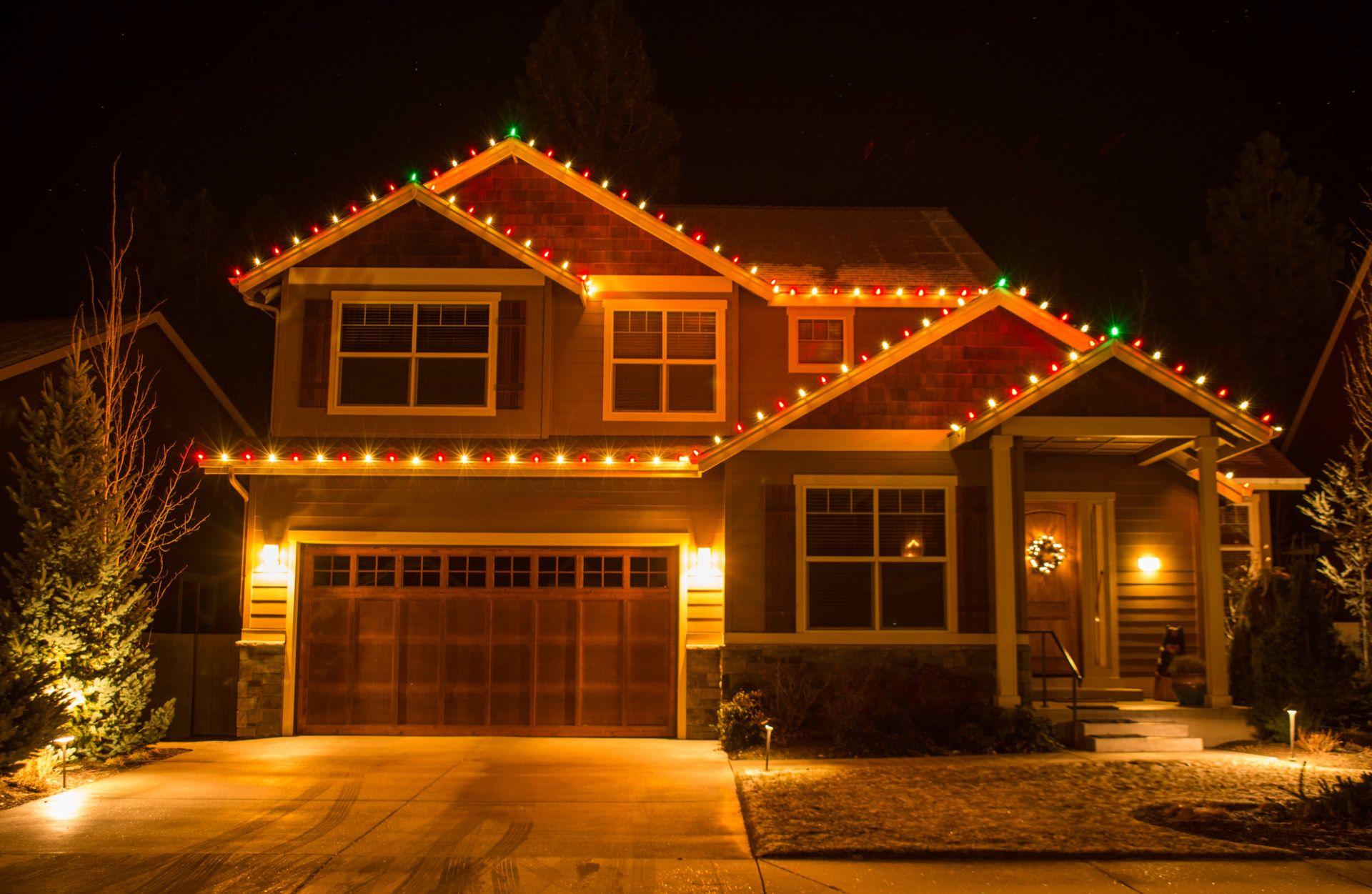 Christmas and Halloween Holiday Lights