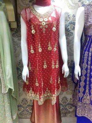 Beautiful red sharara dress for Sale in Springfield, VA