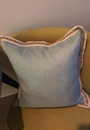 Feather filled throw pillows for Sale in Alexandria, VA