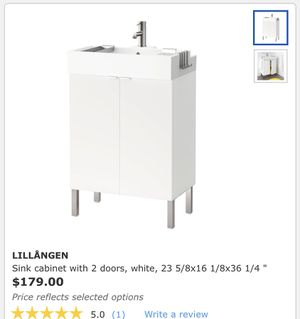 ***BRAND NEW***MUST SELL*** IKEA Sink Cabinet Base with Sink Bowl and Faucet for Sale in Dallas, TX