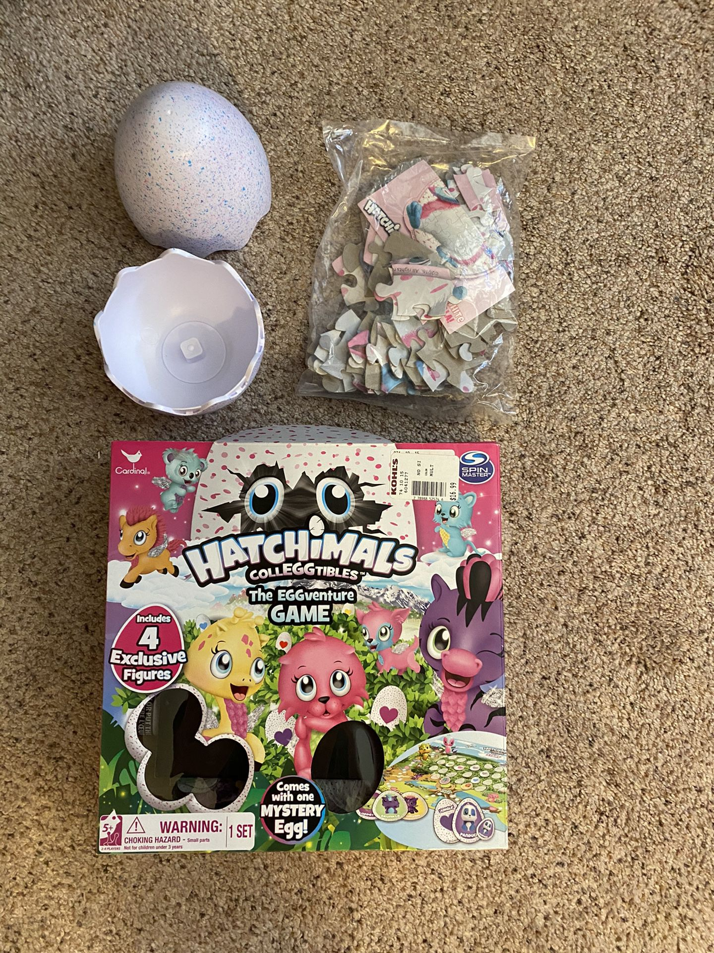 Hatchimal Puzzle And Game