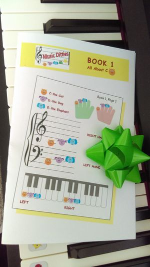 8x6 Beginning Piano Book! for Sale in Clermont, FL