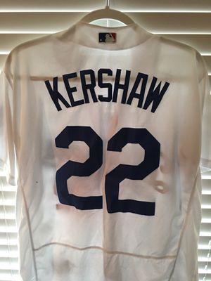 95c7b4fb22d Clayton Keyshawn MLB Baseball Los Angeles Dodgers Jersey #22 Red White Blue  Majestic for Sale