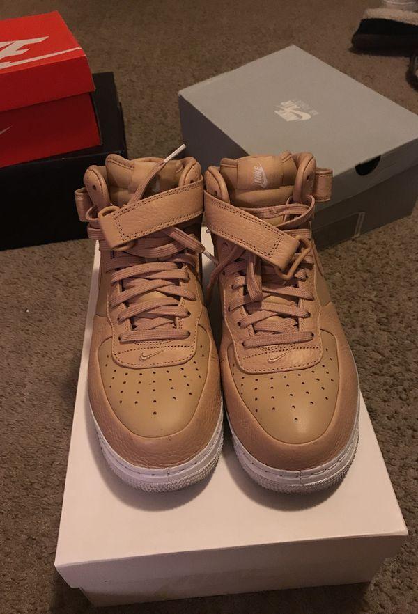 outlet store 7774a 5fac9 Nike Air Force 1  Vachetta Tan