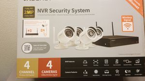 (Samsung) Wisenet Wireless 4 Camera Video Security System for Sale in Orlando, FL