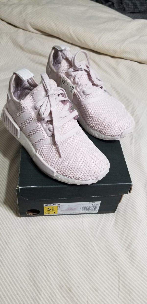 low priced a3ed5 04821 Adidas nmd r1 orchid tint womens 5.5 for Sale in Escondido, CA - OfferUp