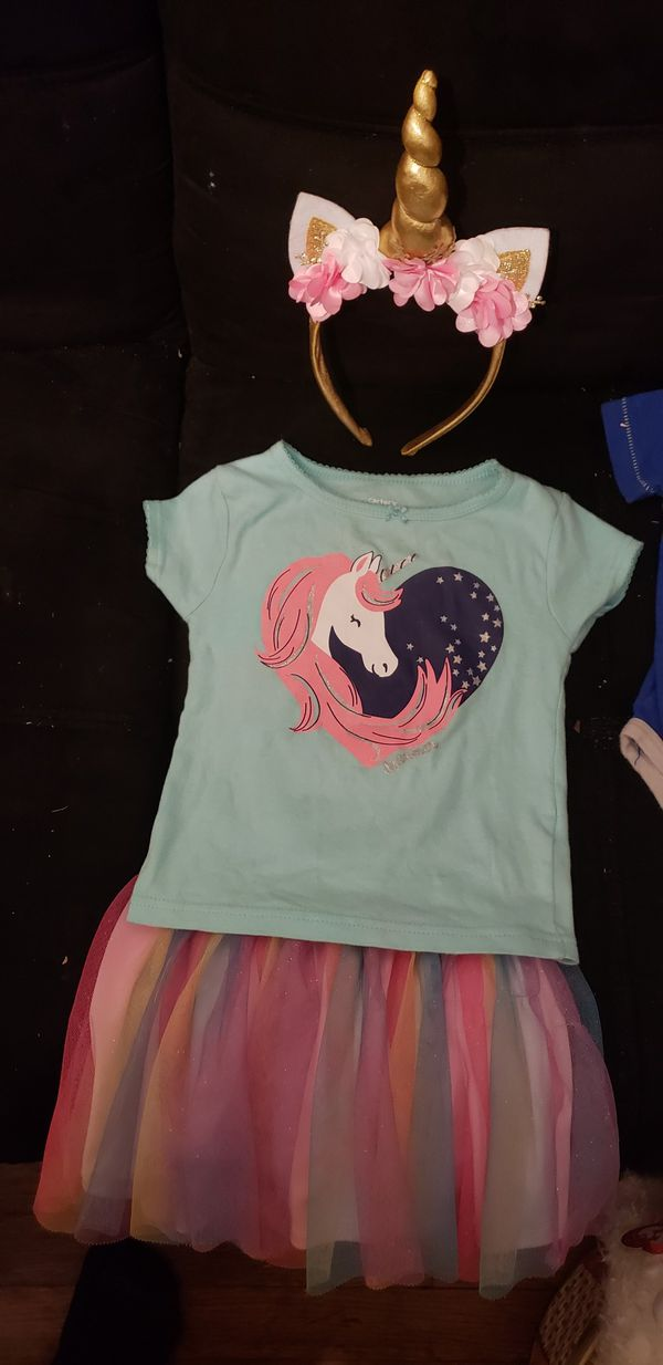 498892dd0 2 T unicorn outfit for Sale in Pasadena, TX - OfferUp