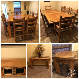Photo 21 piece Rustic lodge cabin furniture