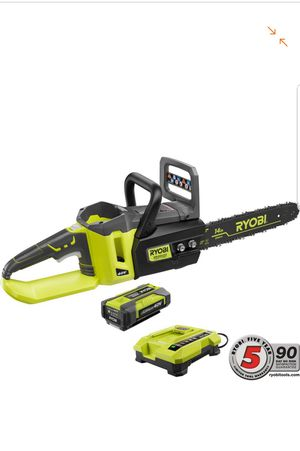 RYOBI RY40511 Lithium-Ion Brushless Cordless Chainsaw 14 in. 40-Volt for Sale in Upper Marlboro, MD