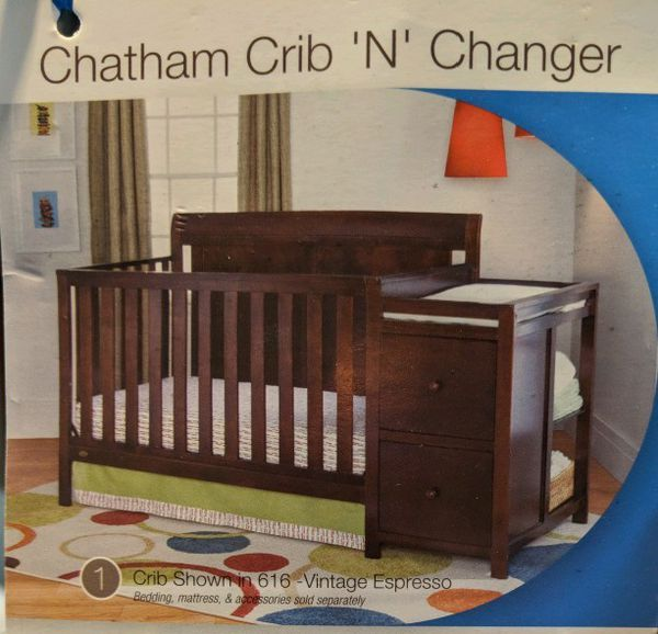 Crib And Changing Table And Dresser For Sale In Bonney Lake Wa