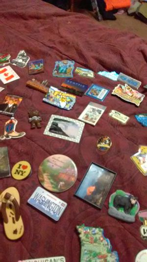 Refrigerator magnets from all over the USA for Sale in Fresno, CA
