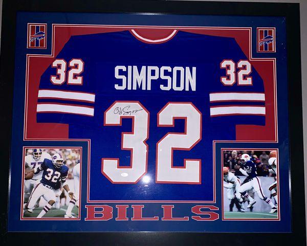 buy online 550ab 15614 OJ Simpson JSA Certified Framed Jersey for Sale in Buffalo, NY - OfferUp