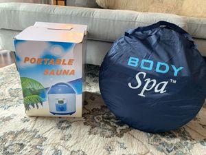 Body Spa Portable Steam Sauna w/ Eucalyptus leafs for Sale in Tampa, FL