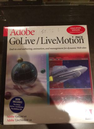 Adobe GoLive/LiveMotion for Sale in Los Angeles, CA