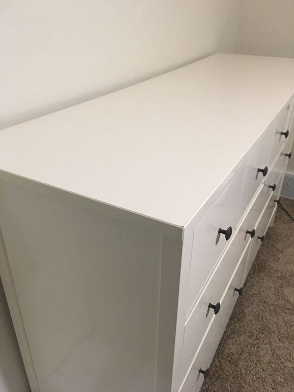 White stain ikea hemnes 8 drawer dresser for sale in for Ikea pittsburgh pennsylvanie