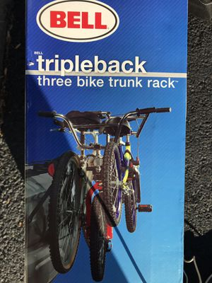 Bike rack that carries 3 bikes for Sale in Springfield, VA