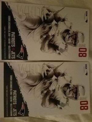 2 Tickets to paradise! Patriots vs NY Jets!! for Sale in Foxborough, MA