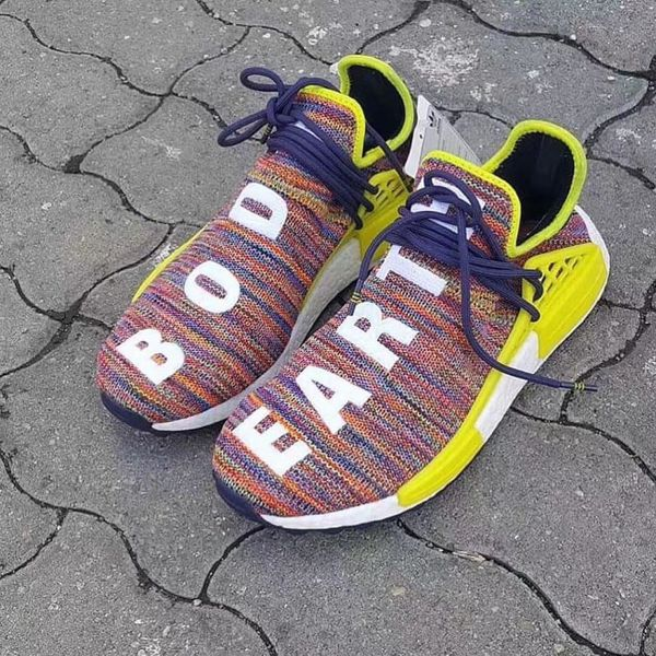 76e47037a Adidas Pharrell Williams Human Race NMD HU Multi Color for Sale in ...