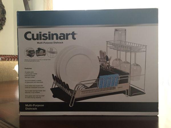 Cuisinart Dish Rack Gorgeous Cuisinart MultiPurpose Dishrack Model 60 For Sale In Arlington