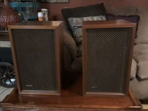 Speakers by Sony vintage for Sale in St. Louis, MO