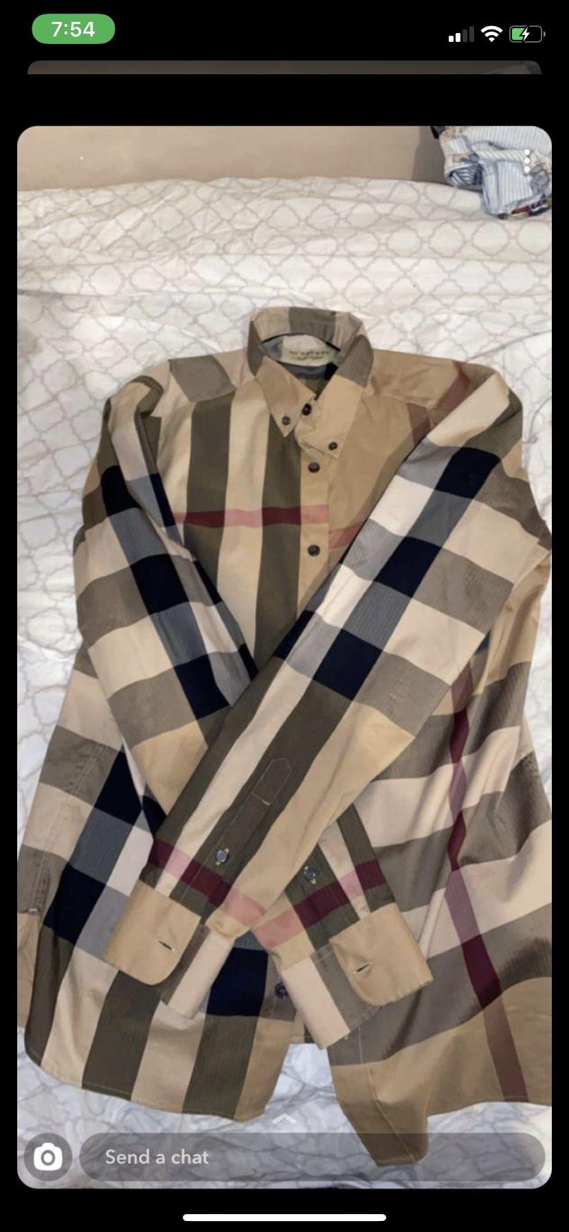 Burberry shirt men