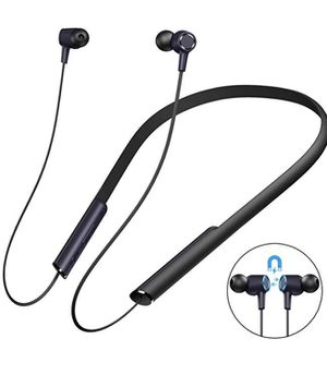 Bluetooth Headphones Wireless Earbuds Wireless Neckband Headset w/Noise Cancelling and in-Ear Stereo Incoming Call Voice Alert for Cell Phone/Tablets for Sale in Falls Church, VA