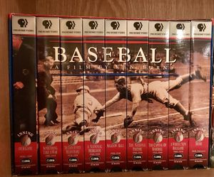 Ken Burns PBS Baseball set VHS for Sale in Lorton, VA