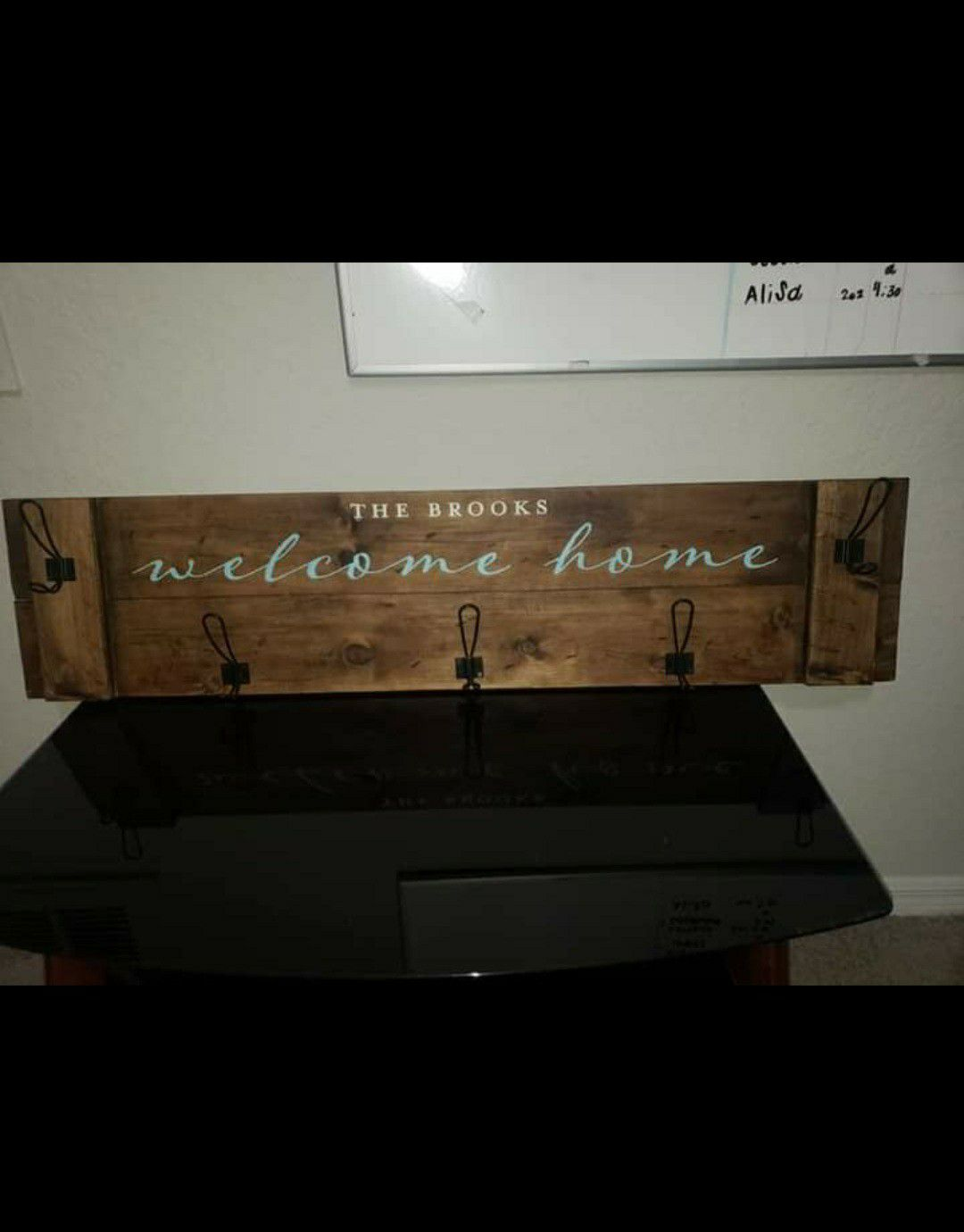 Coat rack for the entrance of the house