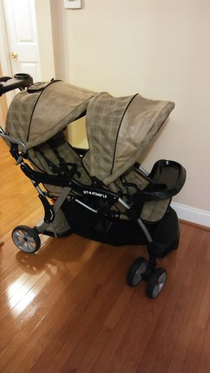 Sit and Stand Double Stroller for Sale in Hyattsville, MD