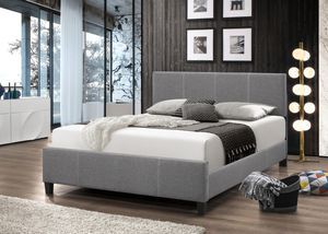 Package queen size special platform bed frame include queen size mattress for Sale in Takoma Park, MD