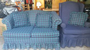 Like new couch and chair for Sale in Silver Spring, MD