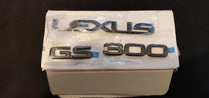 Photo Lexus gs300 BNIB Black Pearl badge